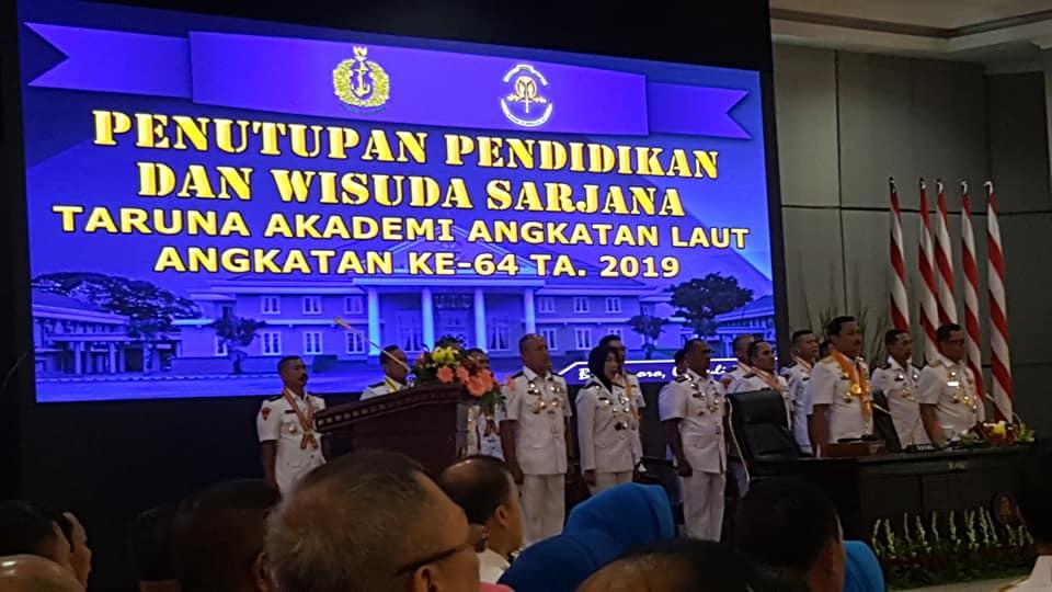 Ketua STIAMAK Hadiri Wisuda Sarjana AAL