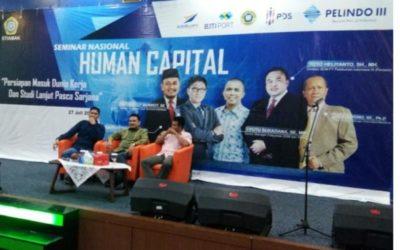 STIAMAK Seminar Human Capital dengan Grup Pelindo III