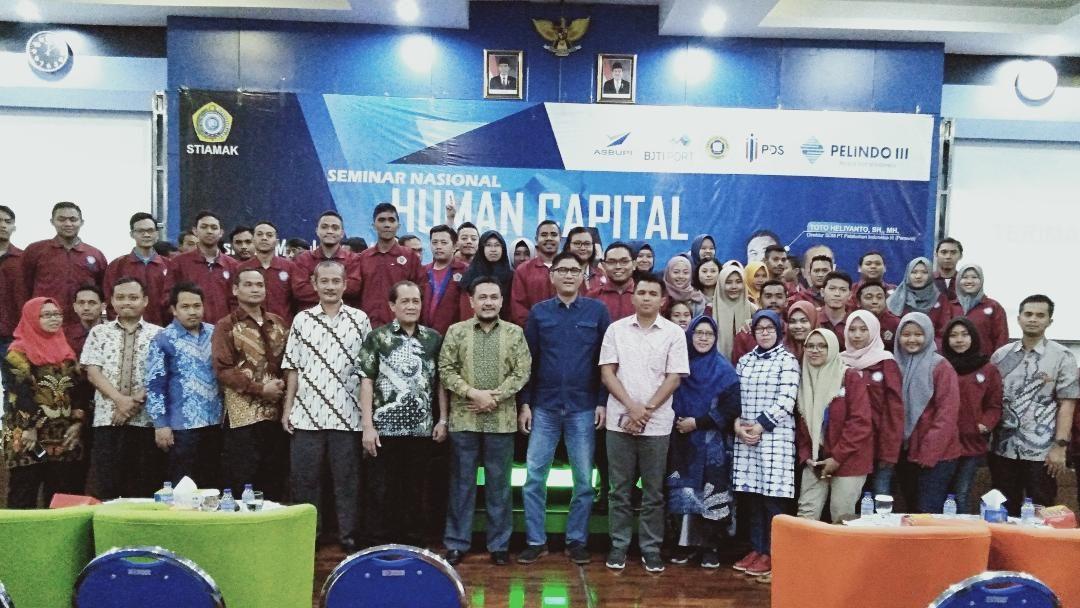 STIAMAK Seminar Human Capital, Siapkan Alumnus Kerja dan Lanjutkan Studi