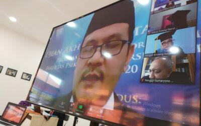 Bahas kinerja millenial, Ketua Stiamak raih gelar Doktor Psikologi dari Unair
