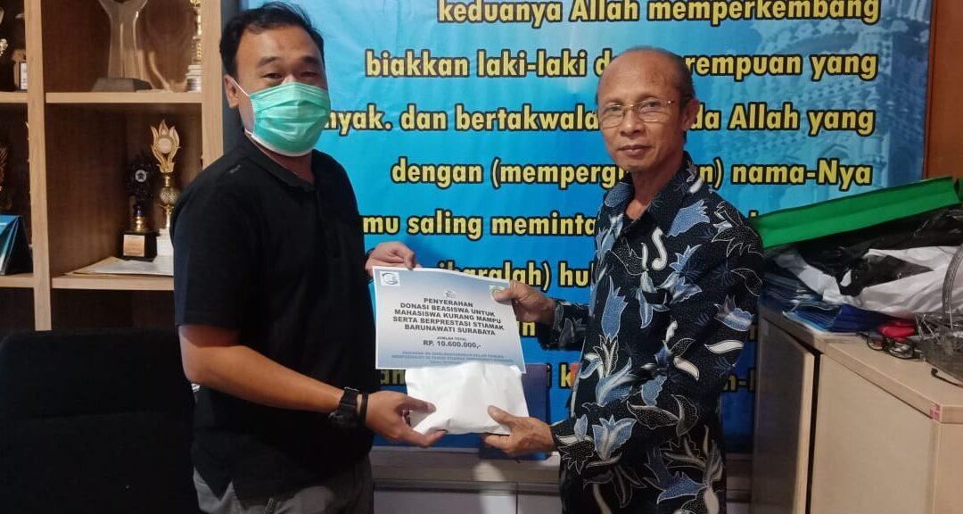Alumni Bersama STIAMAK Peduli Mahasiswa Terdampak Covid 19.