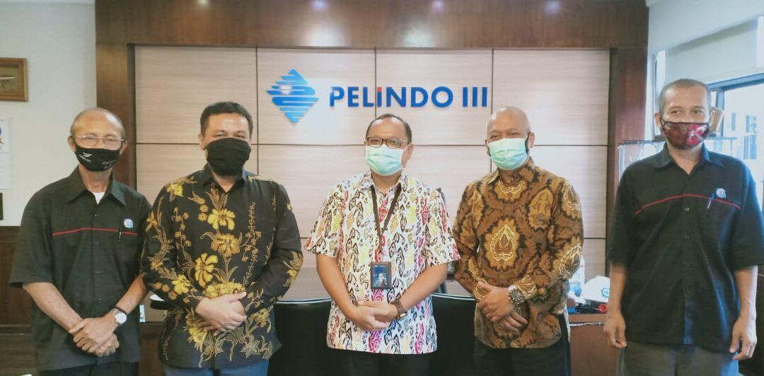 Kunjungan Ketua STIAMAK ke Direktur SDM PT Pelindo III (Persero)