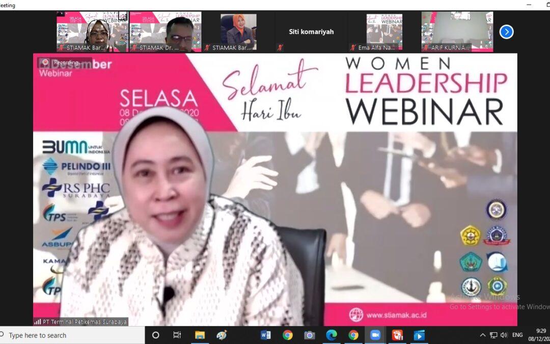 STIAMAK Gelar Women Leadership Webinar
